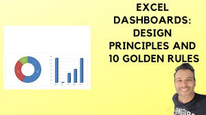 Udemy Dashboard Designing And Interactive Charts In Excel Excel Dashboards Design Principles And 10 Golden Rules