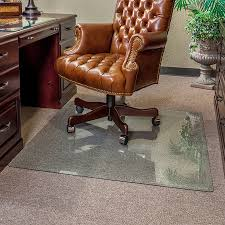 modern rectangle transpa glass computer chair mat desk with drawer design chocolate wooden grey polyester fiber
