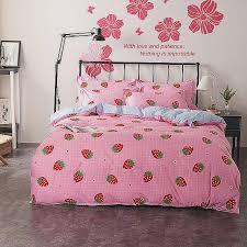 star wars full bedding set luxury 4pcs set girls princess bedding sets duvet covers set pink