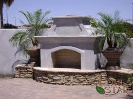 fireplace outdoor fireplace with stacked stone hearth flagstone cap and landscape pots