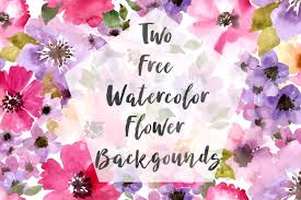 Free Floral Backgrounds Dlolleys Help Two Free Watercolor Flower Backgrounds
