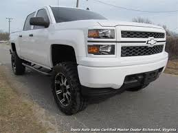 chevy trucks 2014 lifted white.  Trucks 2014 Chevrolet Silverado 1500 LT Lifted 4X4 Crew Cab  Photo 4  Richmond VA And Chevy Trucks White O