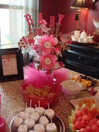 Leopard Print Party Decorations Hot Pink And Leopard Baby Shower Decorations Baby Wall