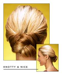 easy hairstyles for long hair knotty and nice