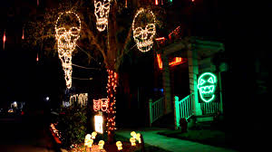 incredible halloween lights and sound outdoor decorations youtube exterior house designs exterior home design child friendly halloween lighting inmyinterior outdoor