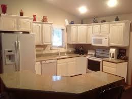 oak cabinets painted whiteKitchen cabinets leave honey oak or paint white Mocked up photo
