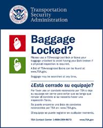 Are Accepted Tsa Lock® Locks - Master What Lock