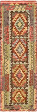 main unique loom 2 2 x 6 3 kilim maymana runner rug photo