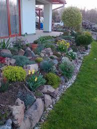 front lawn rock gardens and fabulous front yard rock garden ideas landscapeideasfrontyard
