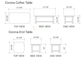 coffee table standard dimensions coffee table standard size full of home designs unbelievable image coffee table coffee table standard dimensions