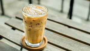 Pour in the filtered water. Why You Should Be Adding Horchata To Your Iced Coffee
