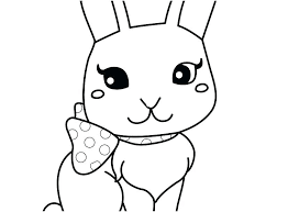Coloring Pages Of Bunnies Koshigayainfo