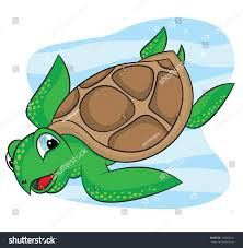 Small Picture Sea Turtle Cartoon Drawings Stock Vector 568069741 Shutterstock
