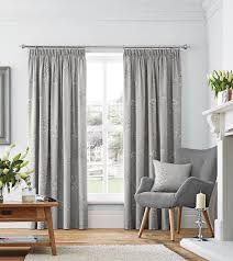 flora ready made lined curtains