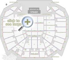 detailed seat row numbers concert chart with floor lower upper tier levels layout perth arena seating