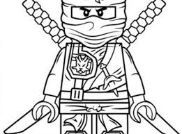 Zane Ninjago Coloring Pages Great Ausmalbilder Ninjago Kai Ideen