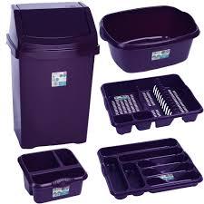 Purple Bathroom Bin Nicer Russellhobbs Purple Toaster Kitchen Violet Ashes