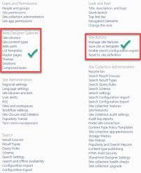 sharepoint templates 2013 2 reasons why you cannot save site as template in sharepoint