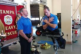 Usf Health Teams With Local Firefighters To Prevent Back Pain Wusf
