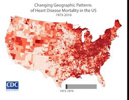Geographic Patterns Simple In The South Less Progress Made In Reducing Heart Disease Deaths