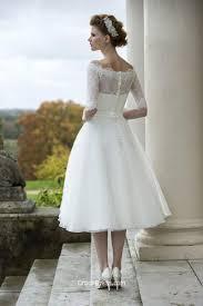 Tea Length Wedding Dresses Gowns Groupdress Com