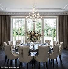 luxurious round dining room table of exciting tables for 17 dining room round