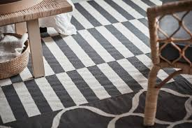 ikea stockholm furniture. IKEA Stockholm 2017 White And Grey Striped Rug With Wicker Armchair Ikea Furniture