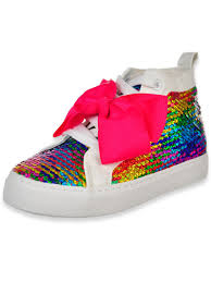 Jojo Siwa Girls Hi Top Sneakers Sizes 12 4