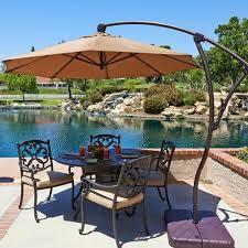 9 offset patio umbrella cantilever