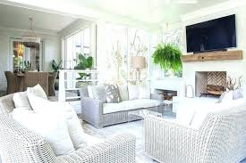 sunroom wicker furniture. Fine Sunroom Furniture For Sunroom Wicker Sunken Living Space With  Sofas Cushions Cool Ideas Throughout