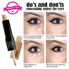 applying makeup to cover under eye bags vidalondon