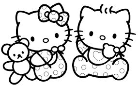Small Picture Hello Kitty Coloring Pages Along With Camera Coloring Worksheets