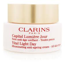 Vital Light Day Cream Clarins Vital Light Day Cream For All Skin Types 1 7oz 50ml