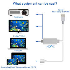 mirror your phone to tv. high-definition television cable 2m hdtv vedio mirror your phone screen on tv hdmi ? to tv