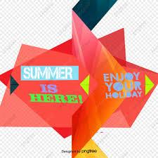 夏の夏のポスターのベクトル図 ファッション幾何形 ファッション