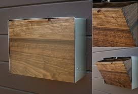 modern mailbox etsy. Modren Mailbox Mailbox By CeCeWorks  LumberJac Inside Modern Etsy