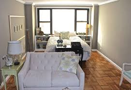 Studio Living Room Furniture Long And Narrow Nyc Studio Apartment Small Apartment Sized Sofa