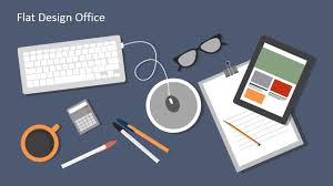 Office Powerpoint Template Flat Design Office PowerPoint Templates SlideModel 12
