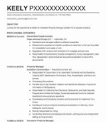 27248 Property Management Resume Examples | Real Estate Resumes ...