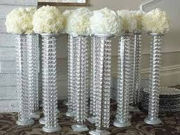 set of 10 tall chandelier centerpieces crystal chandelier wedding centerpieces crystal chandelier centerpiece kits