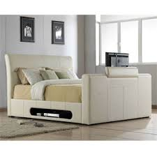 TV Beds Co Mandalay Leather TV Bed