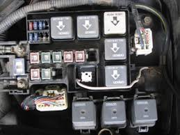 solved where is the fuel pump relay? 1998 2002 mazda 626 ifixit 2001 mazda 626 fuse box diagram at Mazda 626 Fuse Box