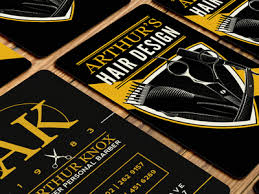 barbershop business cards barber business card by andrew sullivan dribbble