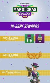 If you play overwatch regularly, you know that events are a common aspect of the game. Ashe Is The Star Of Overwatch S New Mardi Gras Challenge Mini Event