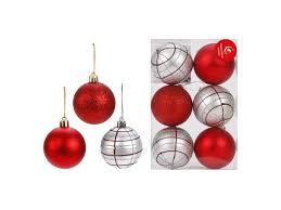 Украшение <b>Новогодняя сказка</b>, <b>Набор шаров</b>, 6 шт., 6 см - купить ...