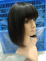china black short bob human hair wigs