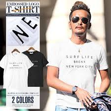 Tシャツ メンズ 半袖 Surf サーフ Newyork ニューヨーク ロゴ プリント