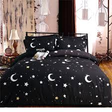 star duvet covers moon and stars bedding set twin queen king size duvet cover flat sheet