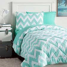 Best 25+ Turquoise bedding ideas on Pinterest | Tropical bedroom ... & PB Teen Zig Zag Stripe Value Comforter Set, Twin, Pool ($119) ❤ Adamdwight.com