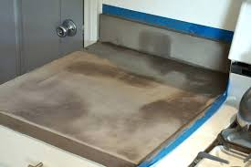 how to polish concrete countertops sealing concrete brilliant lovely imperfection over laminate in
